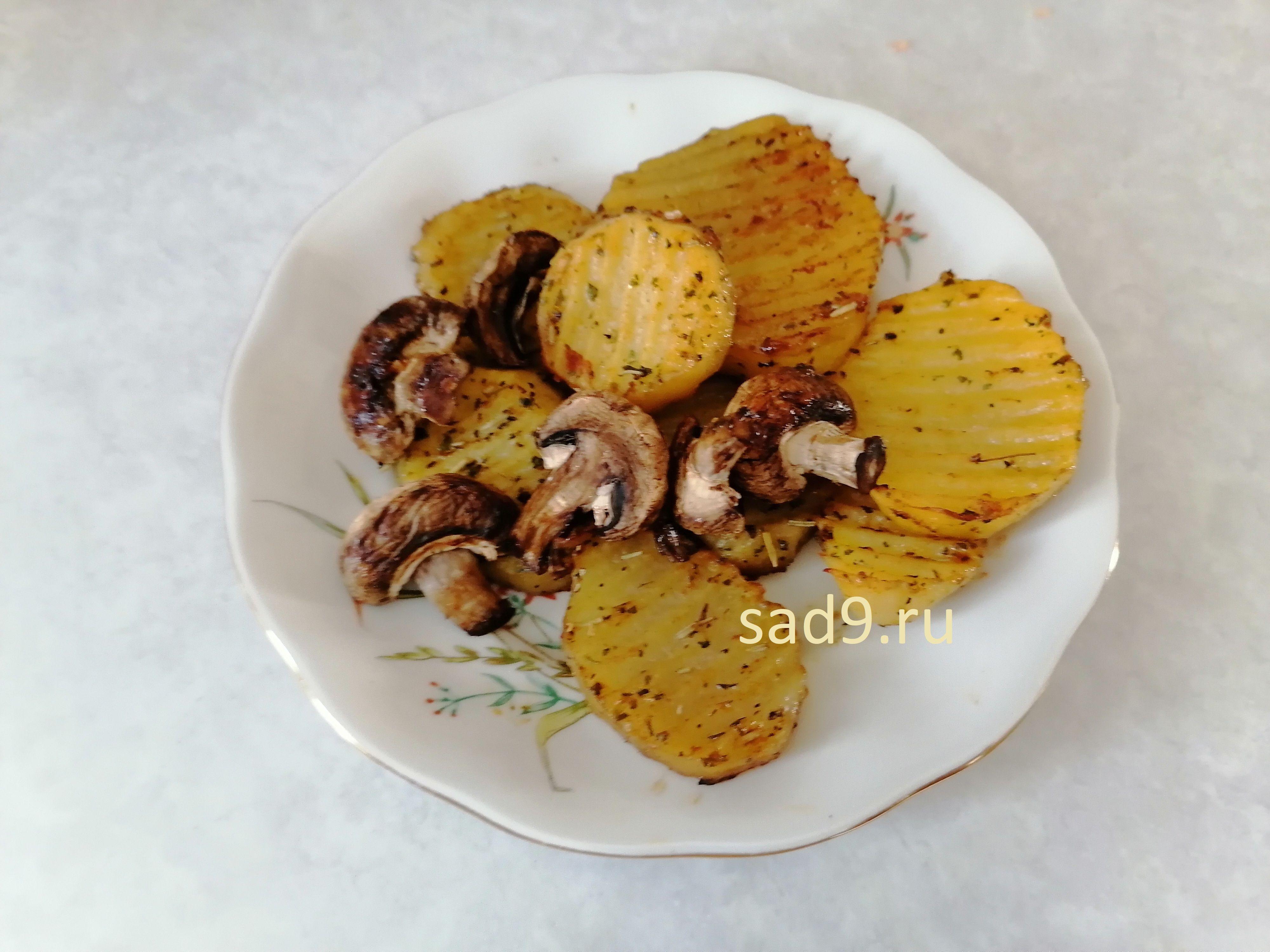 Приготовление картошки с грибами в домашних условиях