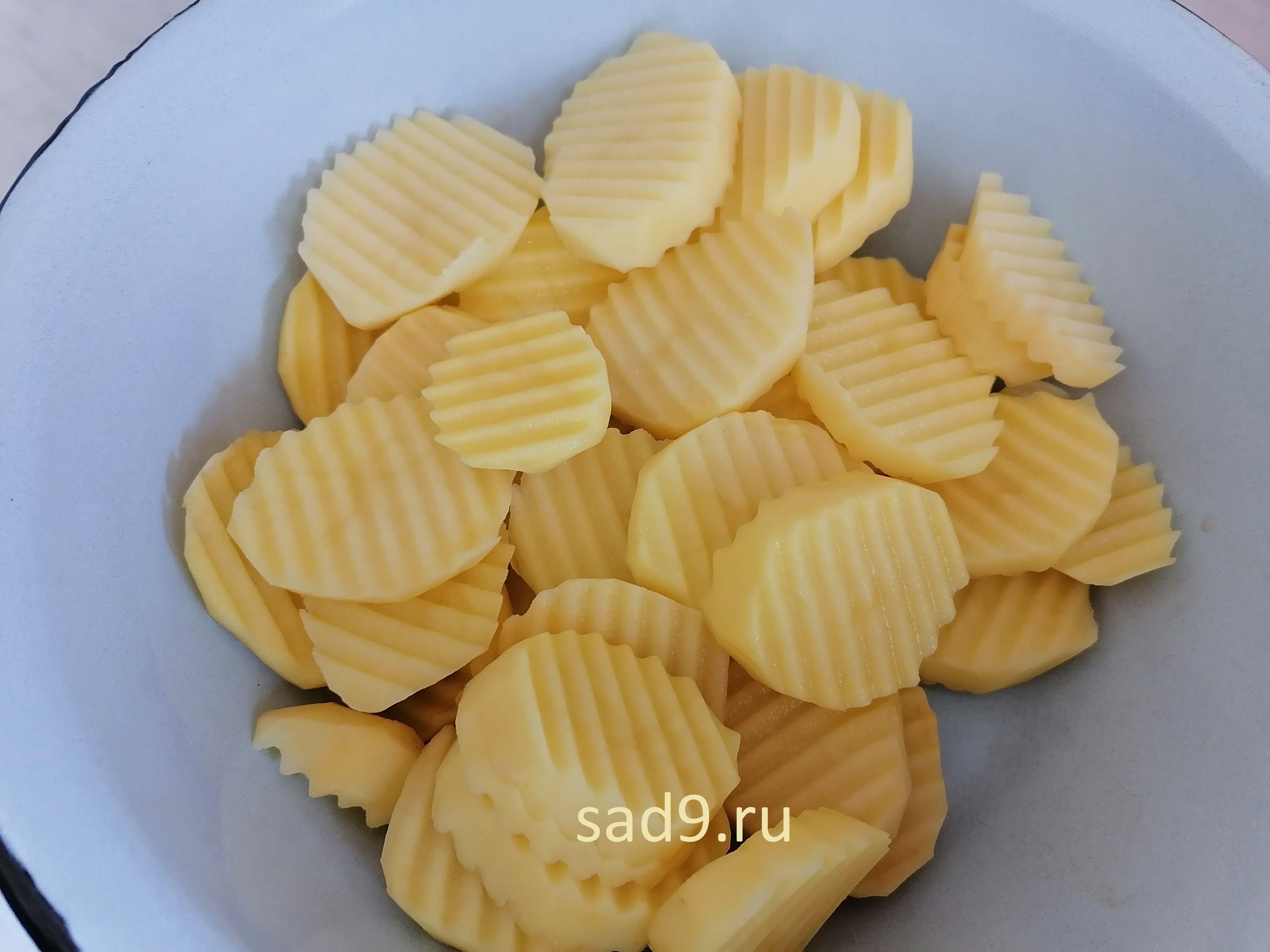 Рецепт пошагово с фото - картофель с грибами
