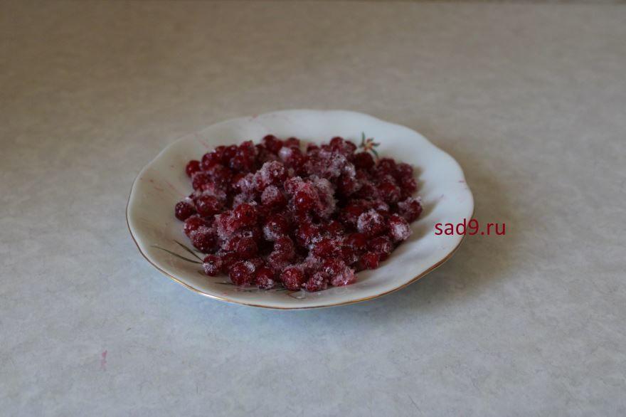 Замороженные ягоды - красная смородина
