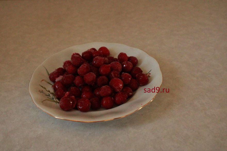 Замороженные ягоды - вишня