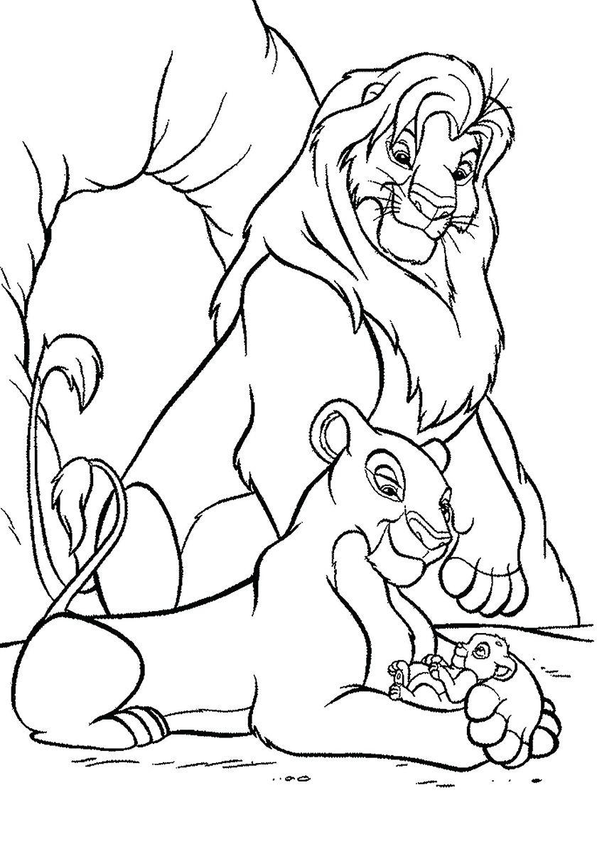 """""""Лев"""" раскраски для детей. Скачать, распечатать онлайн ..."""