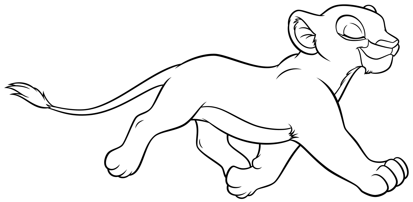 Король лев раскраска для девочек и мальчиков