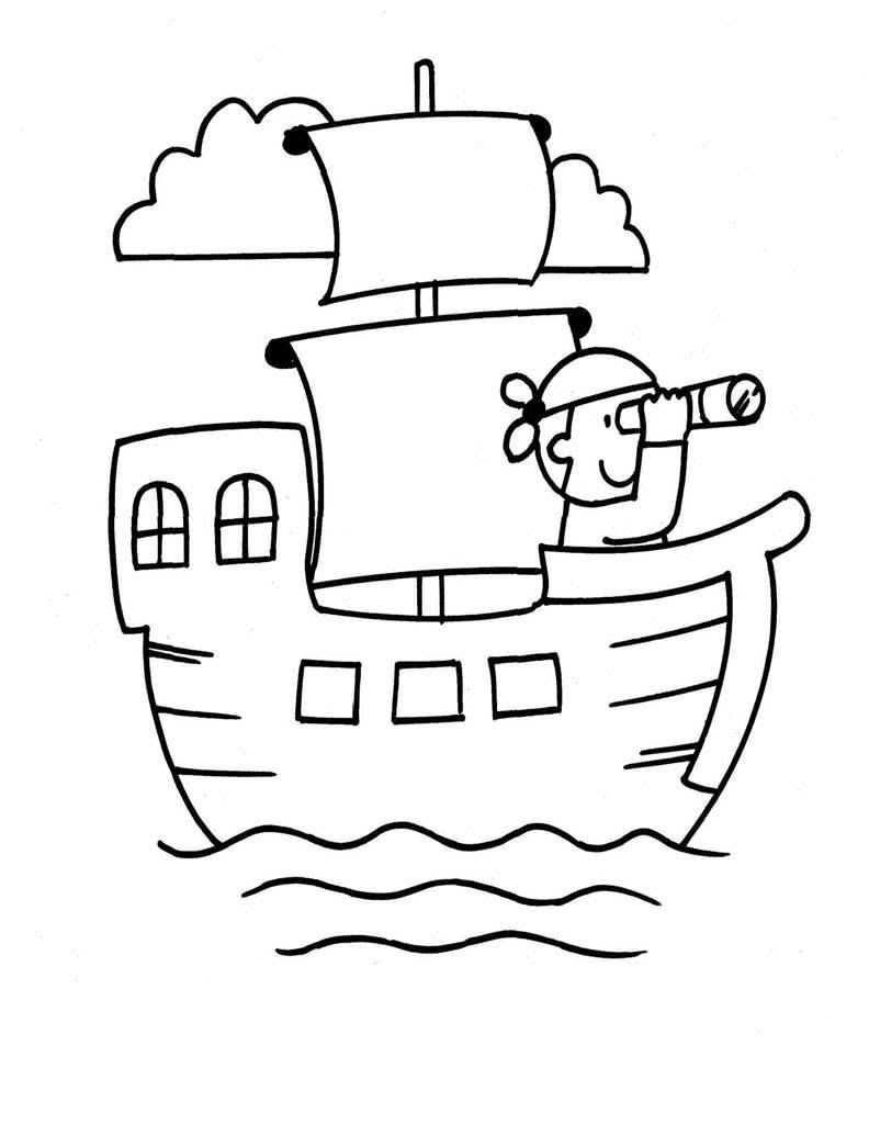 Пираты на пиратском корабле