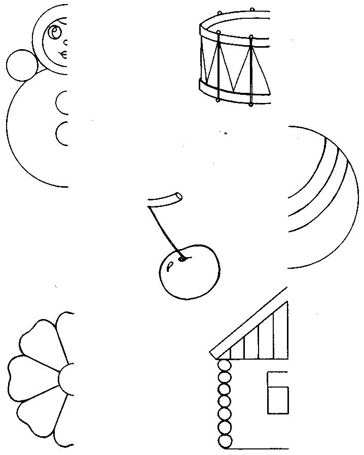 Развитие воображения ребенка, упражнение