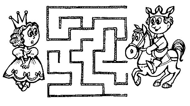 Упражнение Лабиринт для детей 3-4 лет