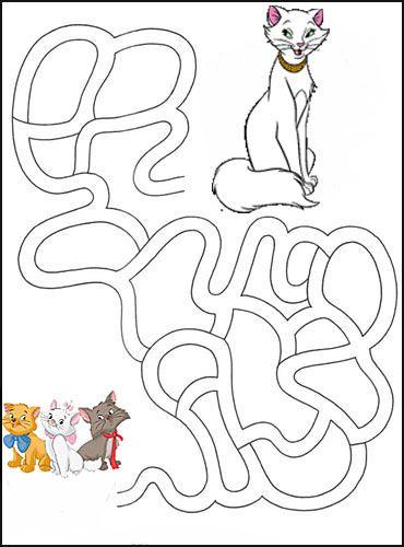 Упражнение Лабиринт для детей 4-6 лет