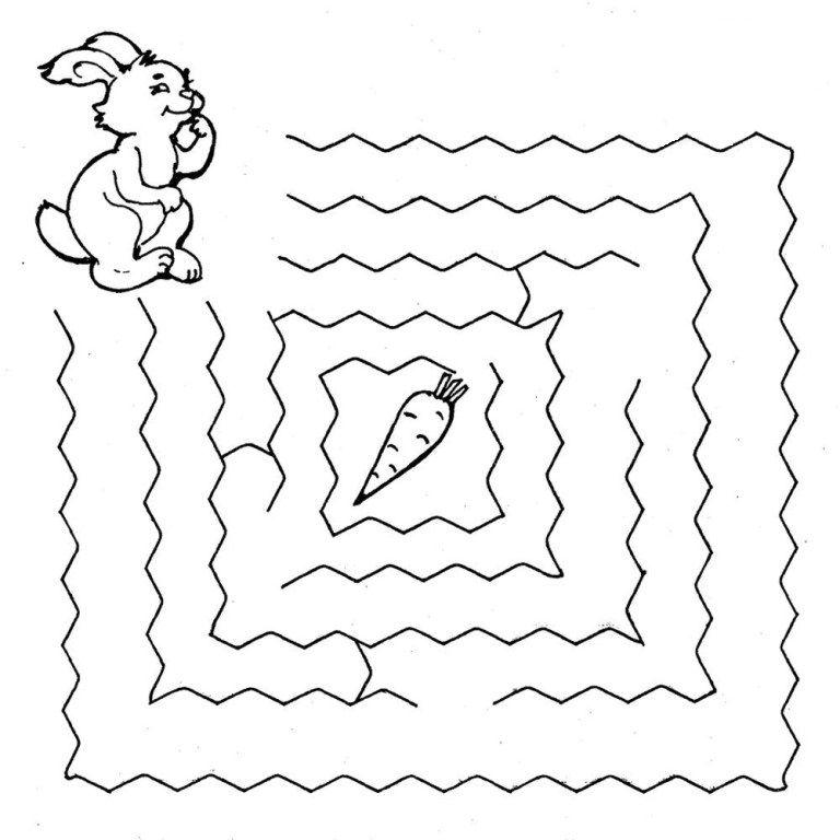 Упражнение Лабиринт для детей 3-5 лет