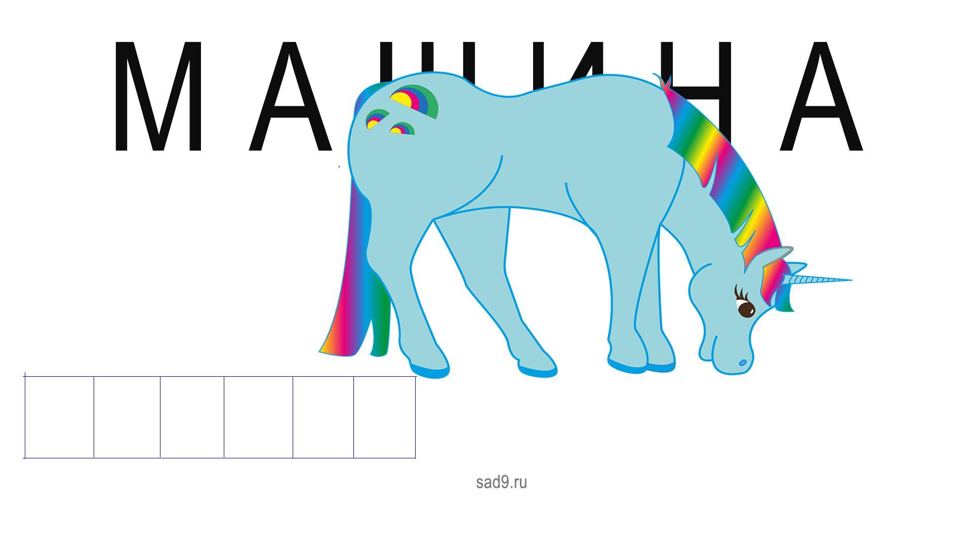 Формируем графический образ букв