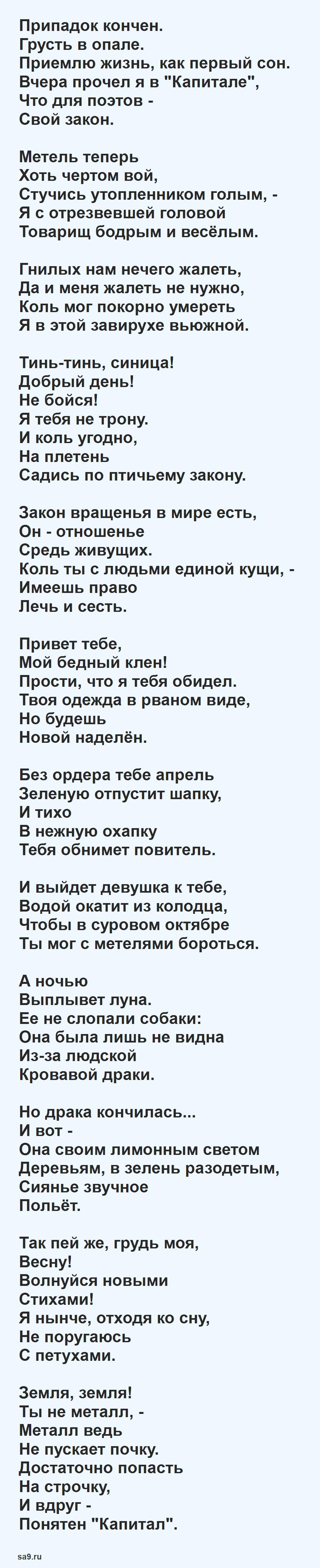 Стихи Есенина о природе - Весна