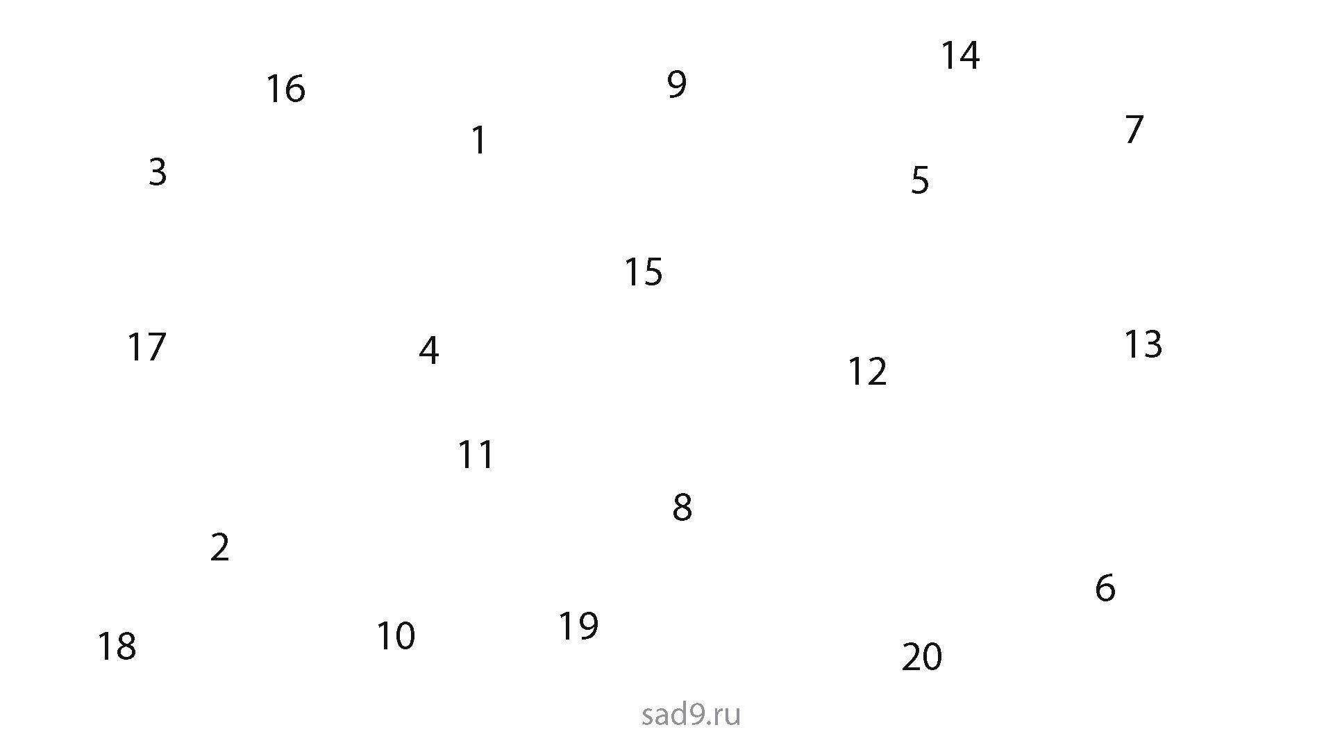 Задания по математике для дошкольников 6-7 лет