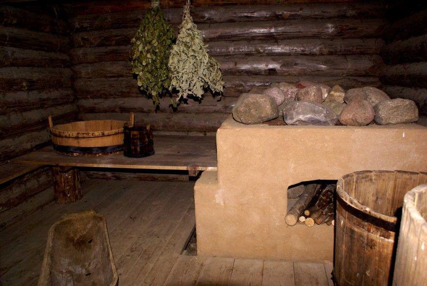 Баня русская деревенская фото своими руками