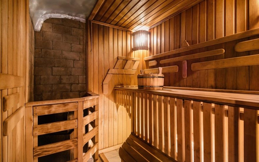 Русская баня фото своими руками печь