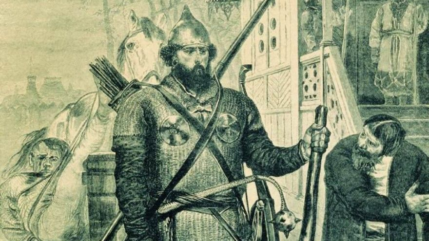 Читать русскую народную былину Иван гостиный сын