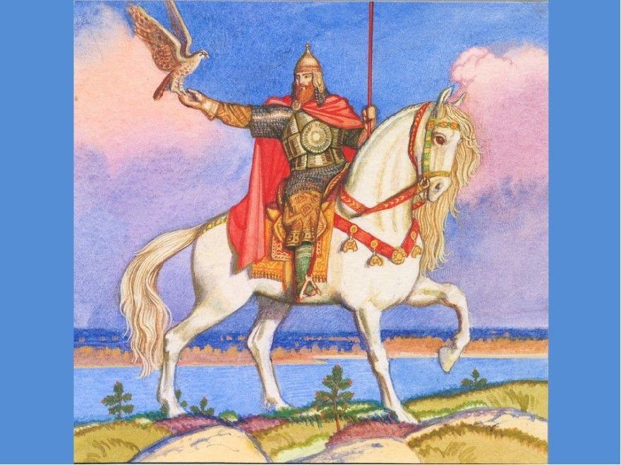 Читать лучшую русскую народную былину Князь Роман и братья Ливики