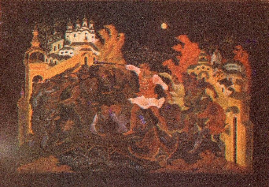 Читать русскую народную былину Василий Буслаев и Новгородцы