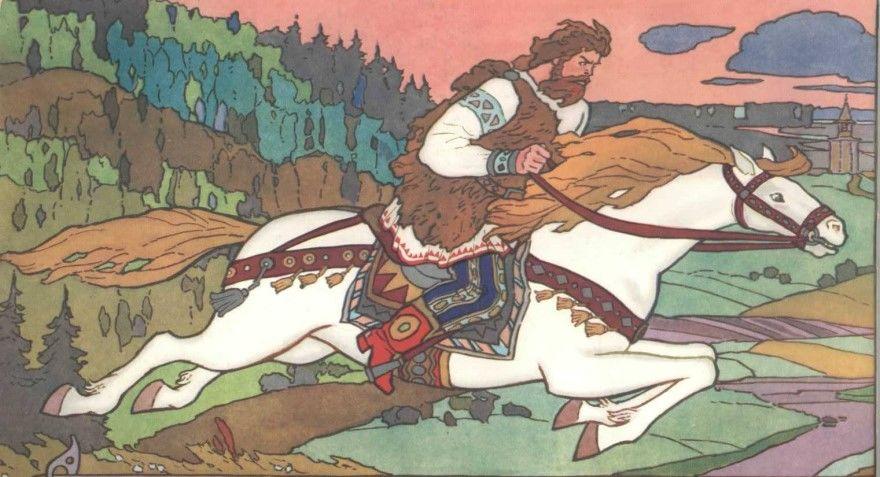 Читать лучшую русскую народную былину Женитьба Добрыни
