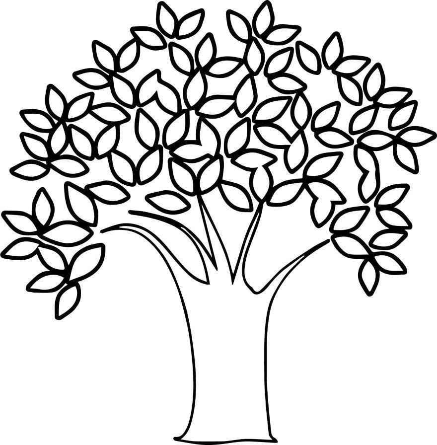 Дерево раскраски малышей мальчиков детей девочек