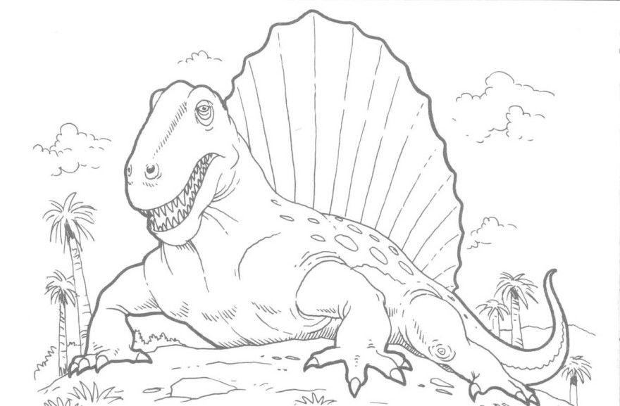 Динозавр раскраски для детей распечатать бесплатно