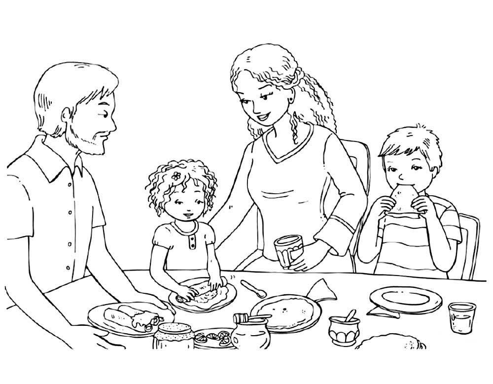 Масленица раскраски для детей распечатать бесплатно