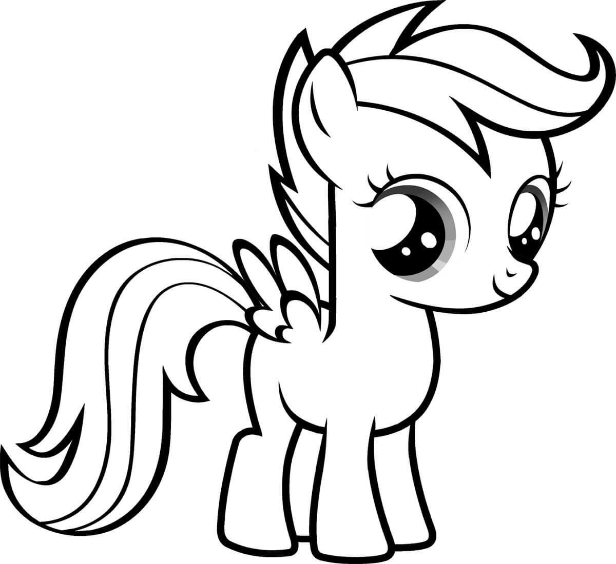 """""""Пони"""" раскраски для детей. Скачать и распечатать онлайн ..."""