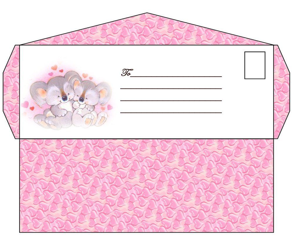 Конверт для денег подарочный распечатать шаблон из бумаги