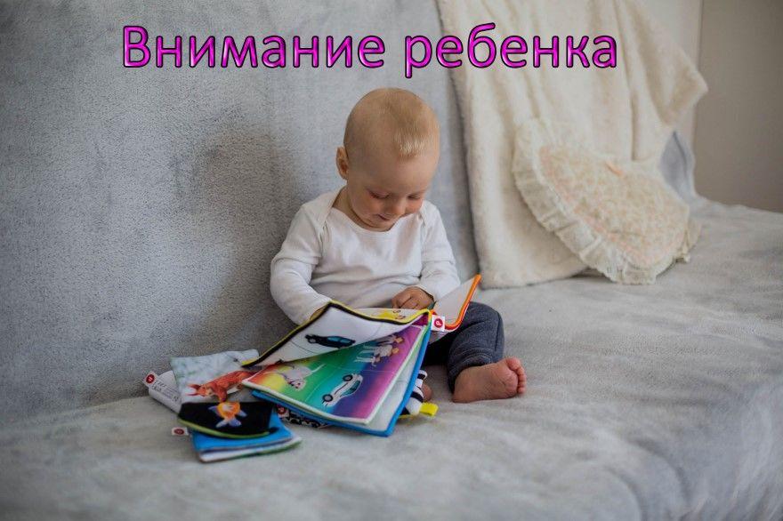 Внимание ребенка развитие упражнения