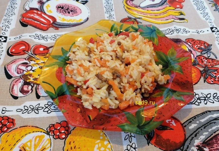 Гарнир рецепт в духовке фото кастрюле сковороде
