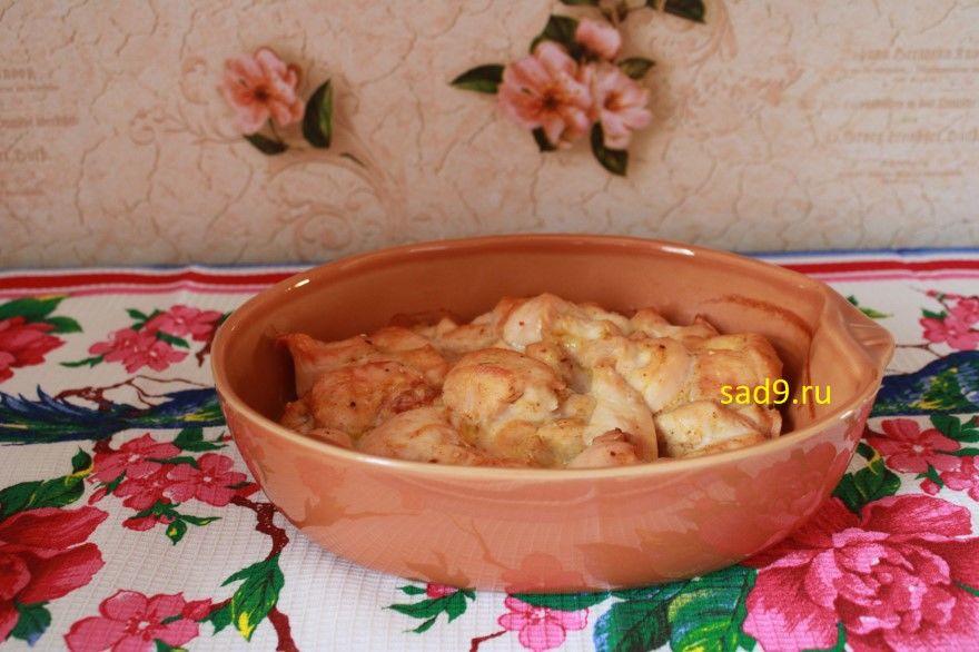 Куриное филе в духовке фото рецепт пошагово