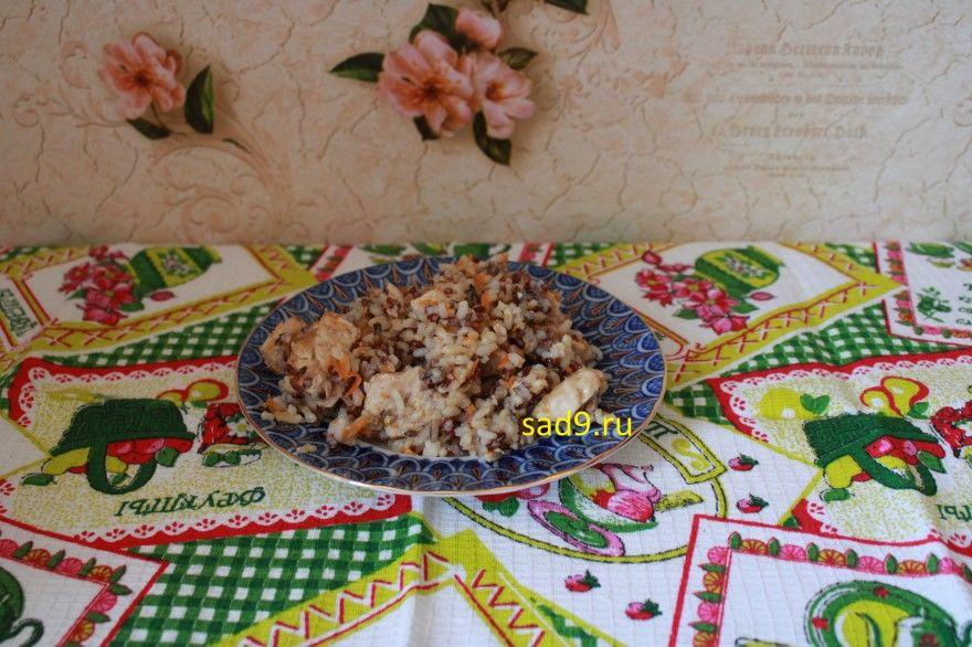 Курица с рисом в духовке фото рецепт пошагово