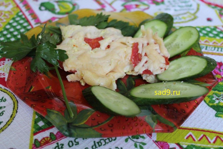 Курица с сыром в духовке фото рецепт пошагово