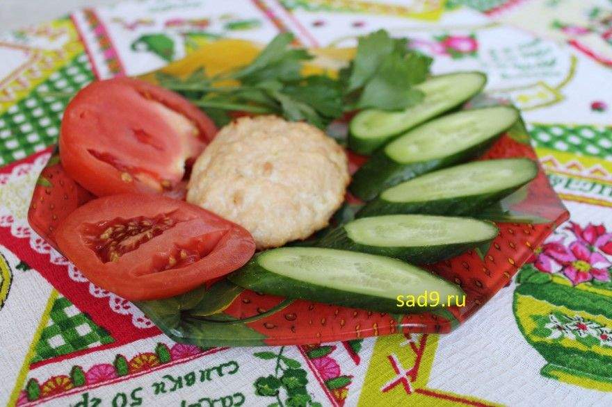Котлеты из куриного фарша фото рецепт пошагово