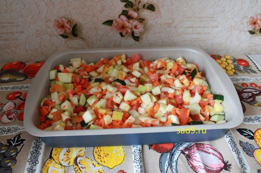 Баклажаны в духовке овощи рецепт вкусный фото