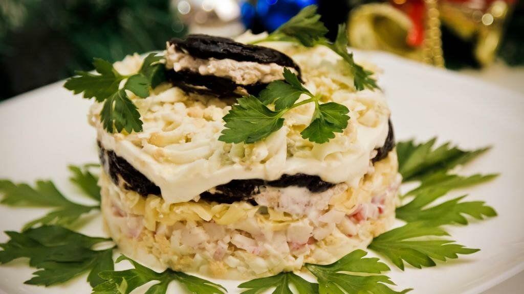 Салат с курицей рецепты фото классический домашних