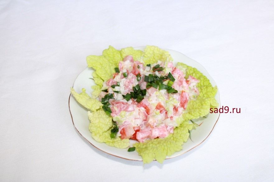 Салат с семгой слабосоленой рецепт фото вкусные