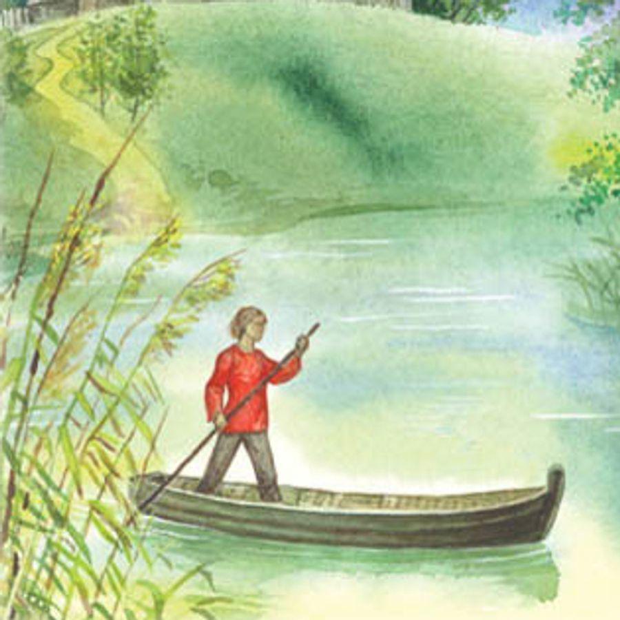 Читать рассказ Детские годы Багрова внука Аксаков