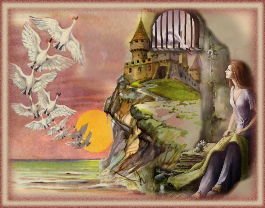 Читать сказку Андерсен Дикие лебеди онлайн бесплатно