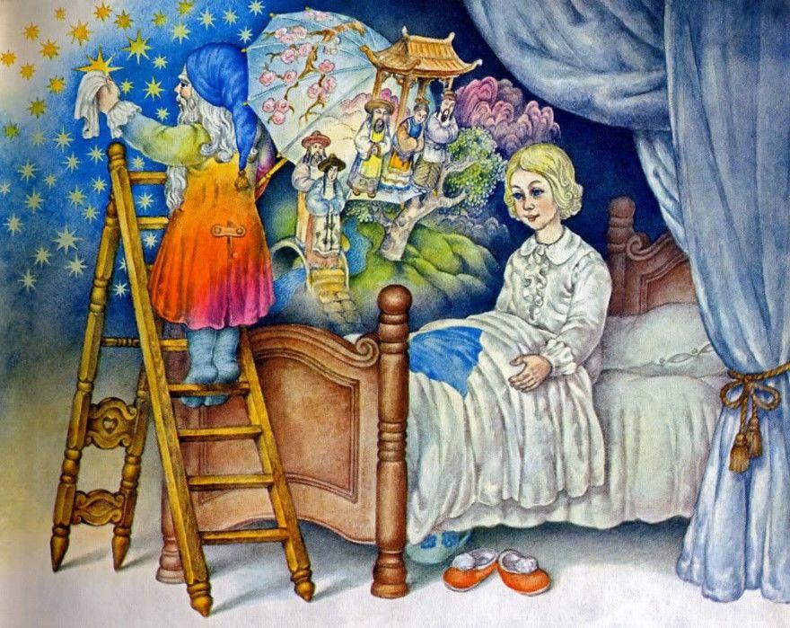 Читать сказку Андерсен Оле-Лукойе онлайн бесплатно