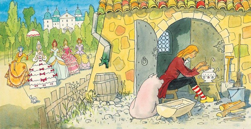 Читать сказку Андерсен Свинопас онлайн бесплатно