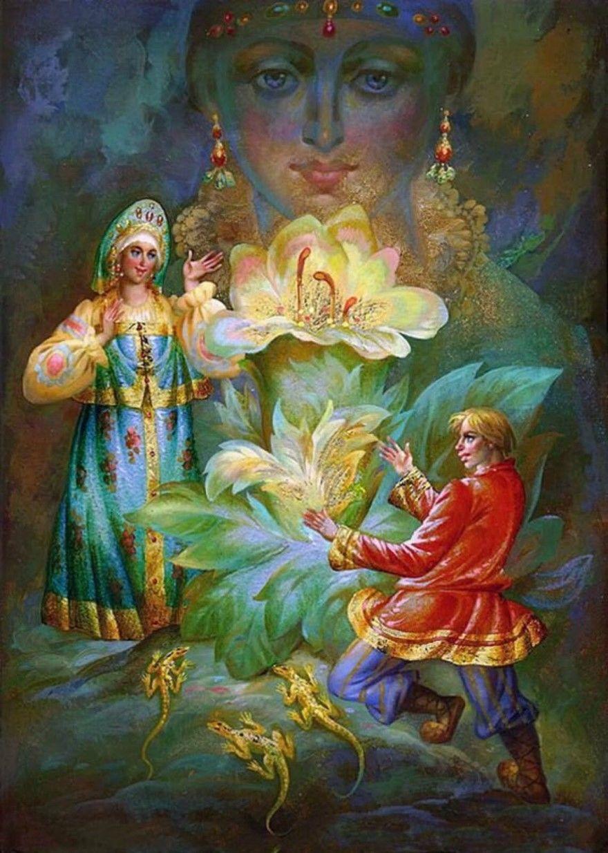 Читать сказку Бажов Каменный цветок для детей