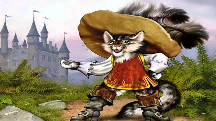 Читать сказку Жуковский Кот в сапогах онлайн