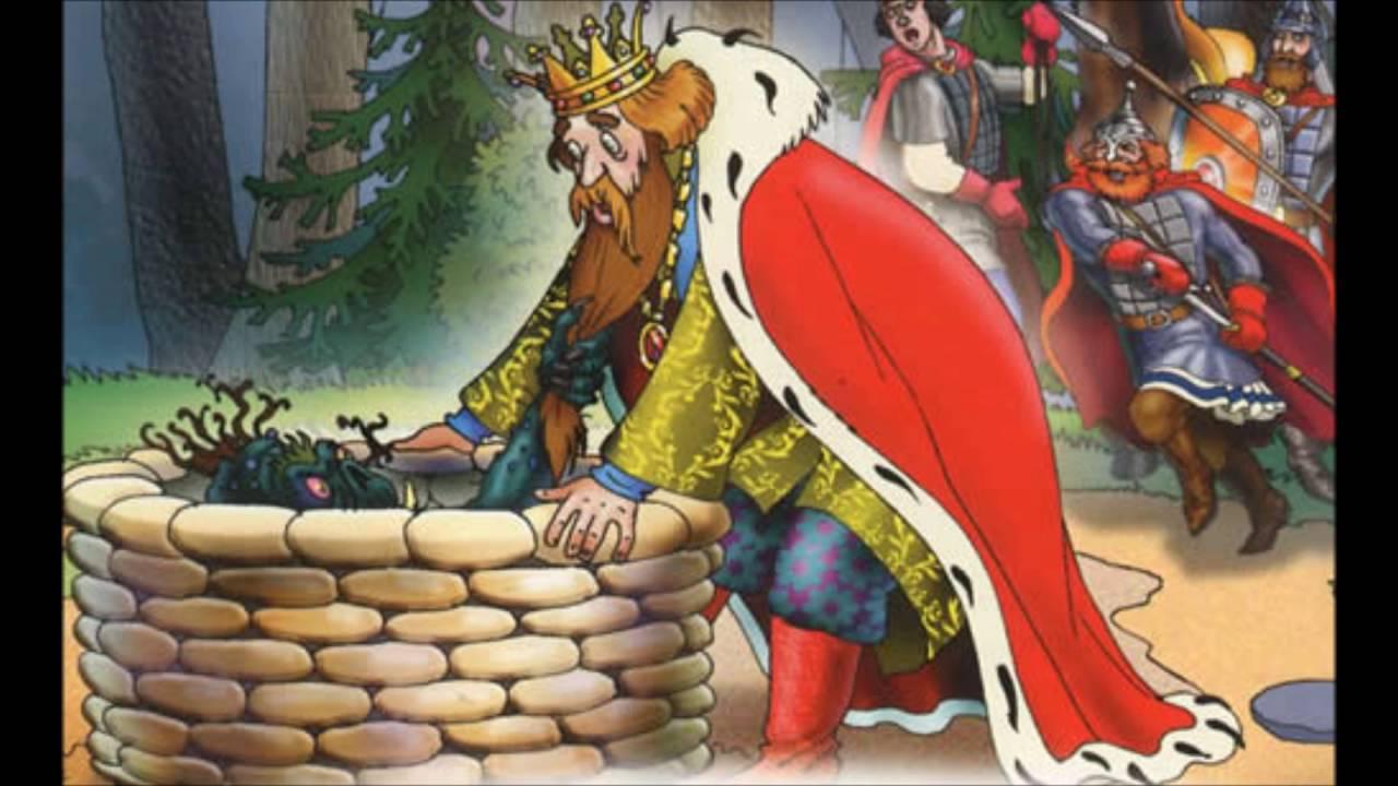 Читать сказку Жуковский О царе Берендее для детей