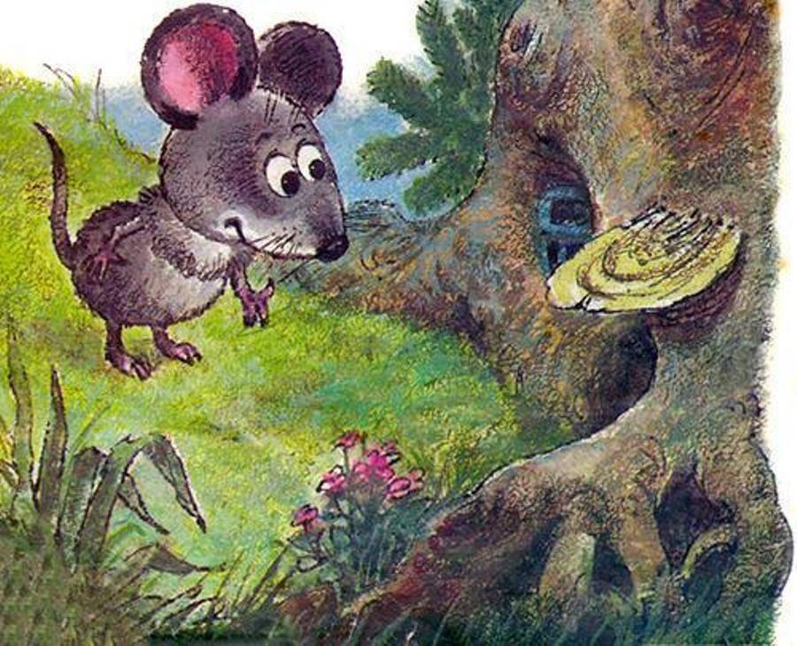 Читать сказку Маршак Об умном мышонке полностью