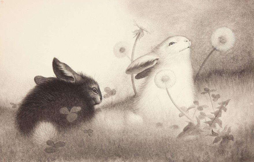 Читать рассказ Паустовский Белые кролики бесплатно онлайн