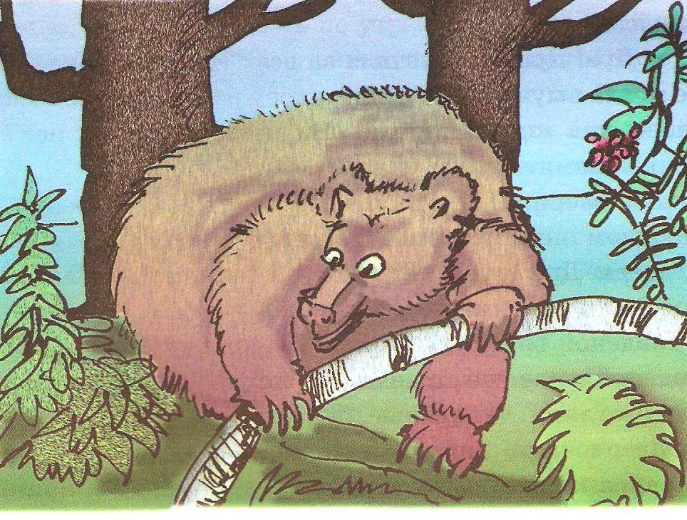 Читать рассказ Паустовский Дремучий медведь бесплатно онлайн
