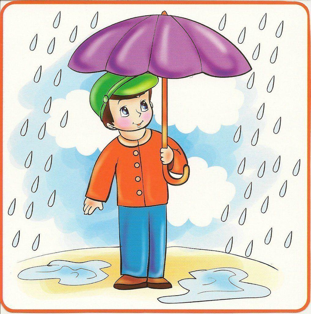 Читать рассказ Паустовский Какие бывают дожди бесплатно онлайн