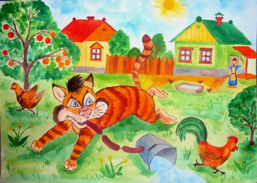 Читать рассказ Паустовский Кот-ворюга бесплатно онлайн