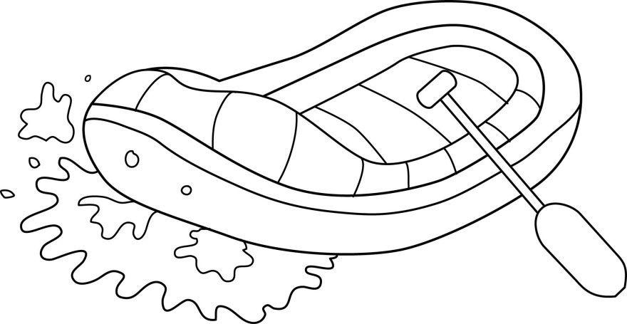 Читать рассказ Паустовский Резиновая лодка бесплатно онлайн