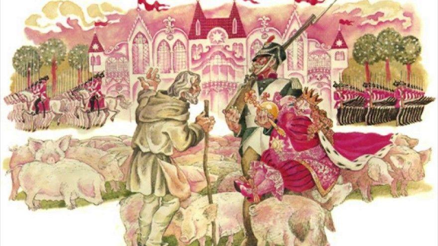 Читать сказку Маршак Про короля и солдата онлайн