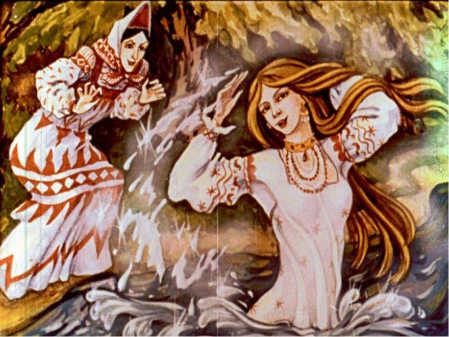 Белая уточка русская народная сказка для детей
