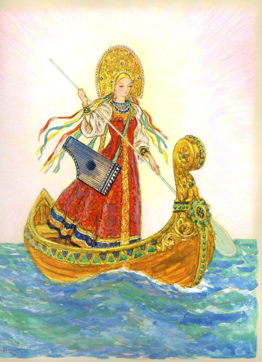 Царь девица русская народная сказка для детей